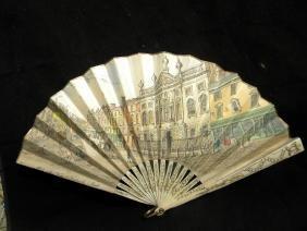 Antique French Fan Bone