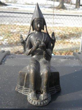 Antique Bronze Buddha Statue