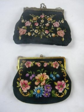 Two Antique Hand Bags
