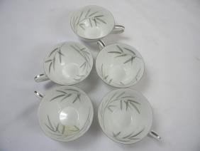 Group of Noritake China Tea Cups
