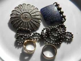 Group of Sterling Silver Items