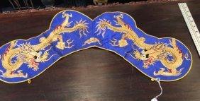 Chinese silk dragon collar