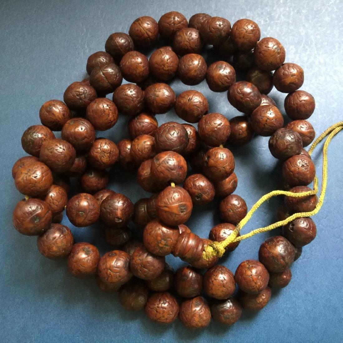 Antique Tibet Phoenix Eye Buddha Prayer Beads