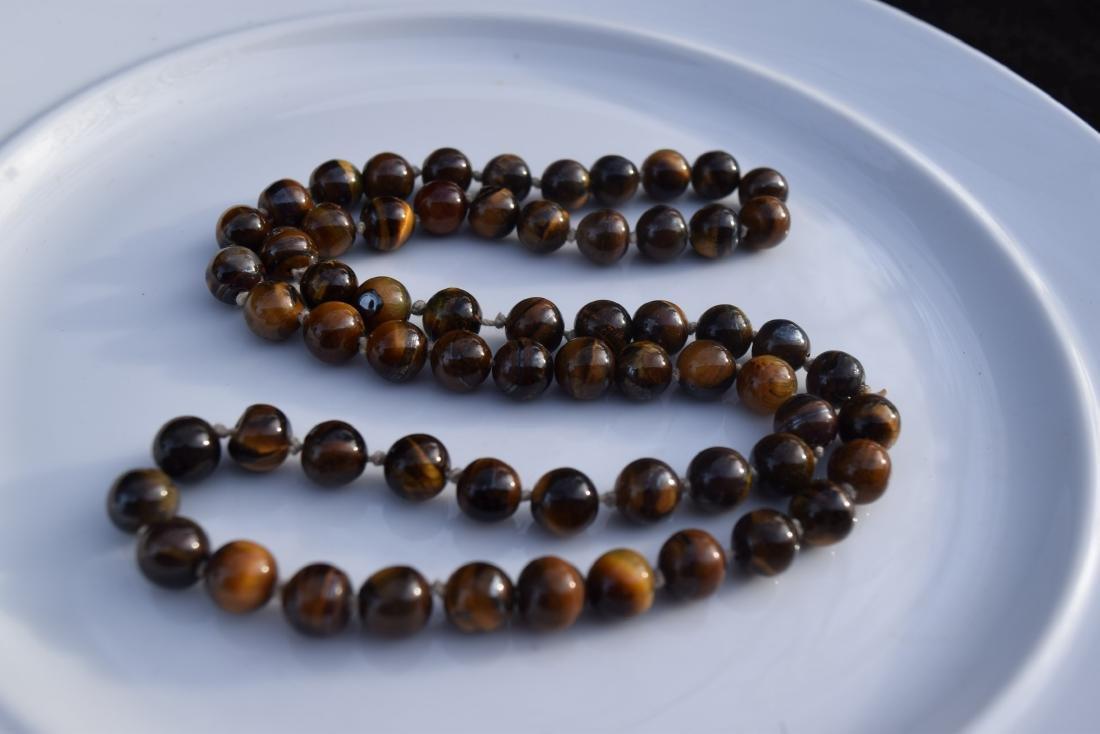 A Tiger Eye Necklace - 4