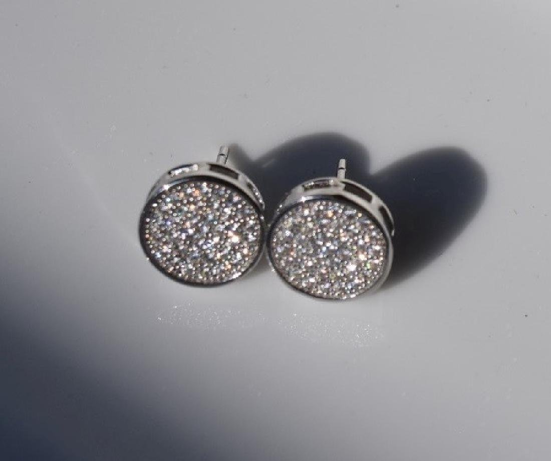 Pair of Silver Earrings - 3