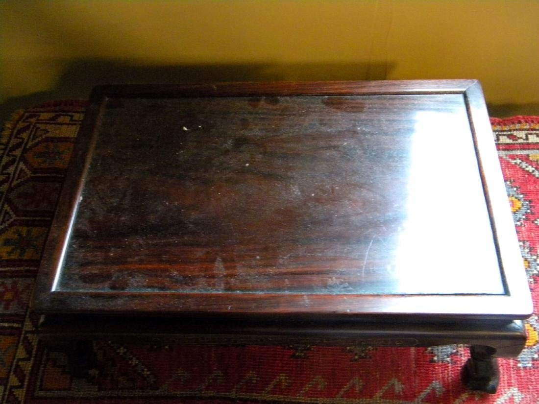 Antique Chinese Rosewood Table - 2
