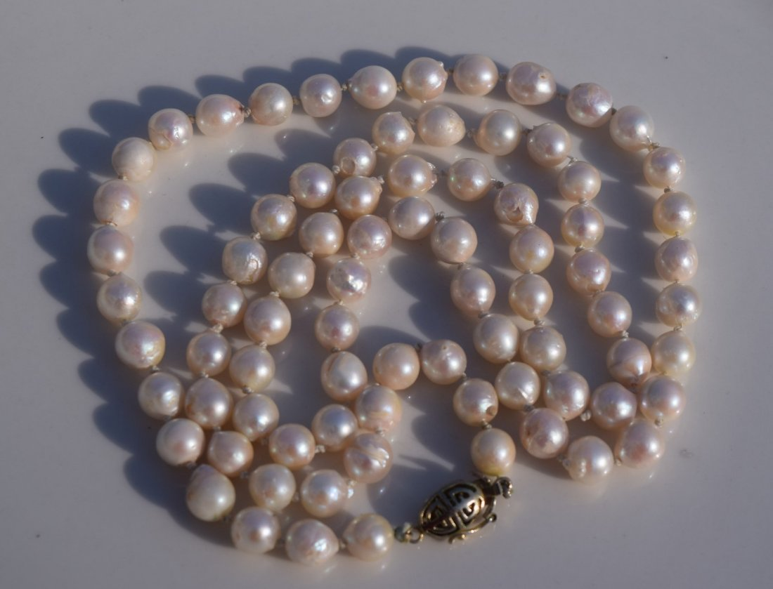 Vintage Pearl Necklace - 2