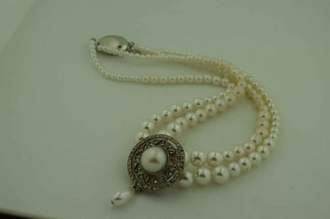 Vintage Pearl Necklace - 3