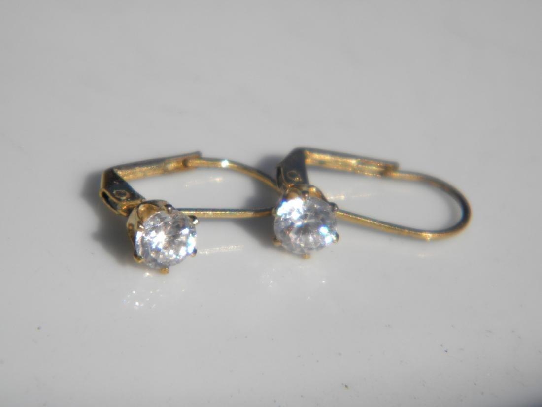 Pair of Diamond Earrings - 2