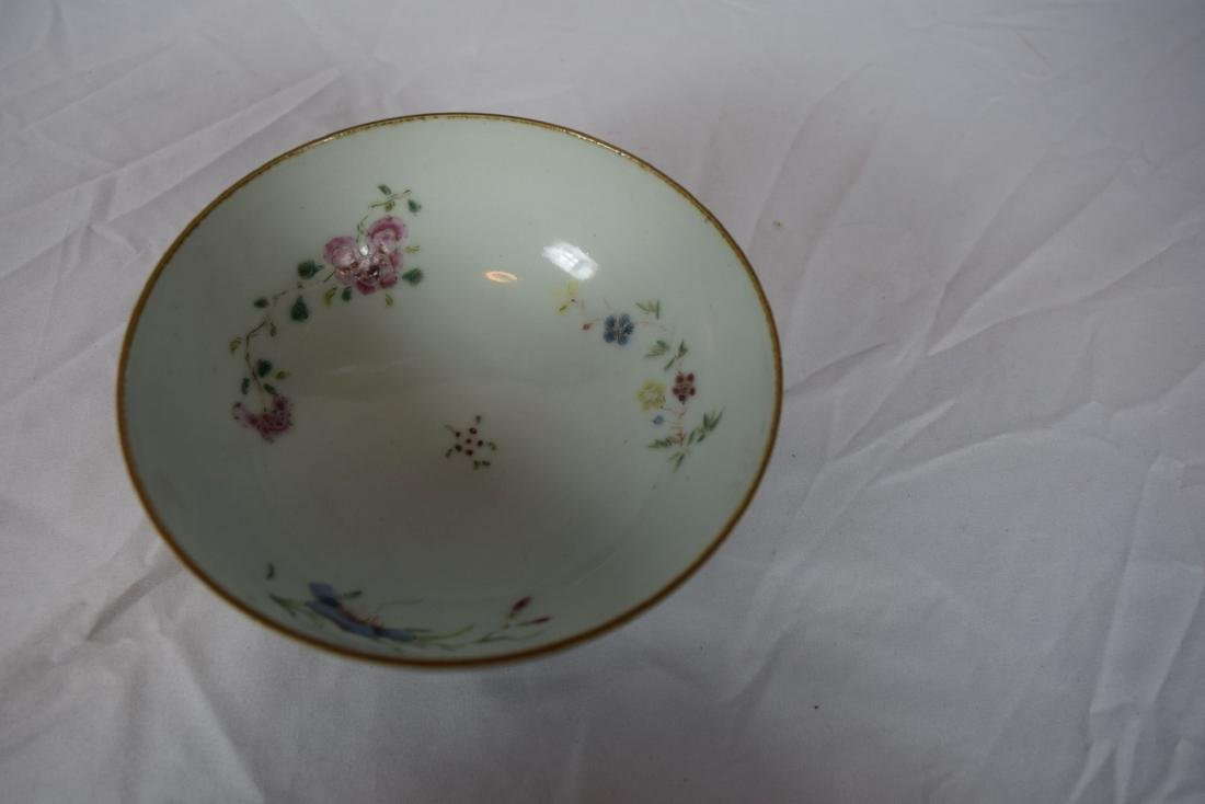 Antique Chinese Famille Rose Beauty Bowl - 4