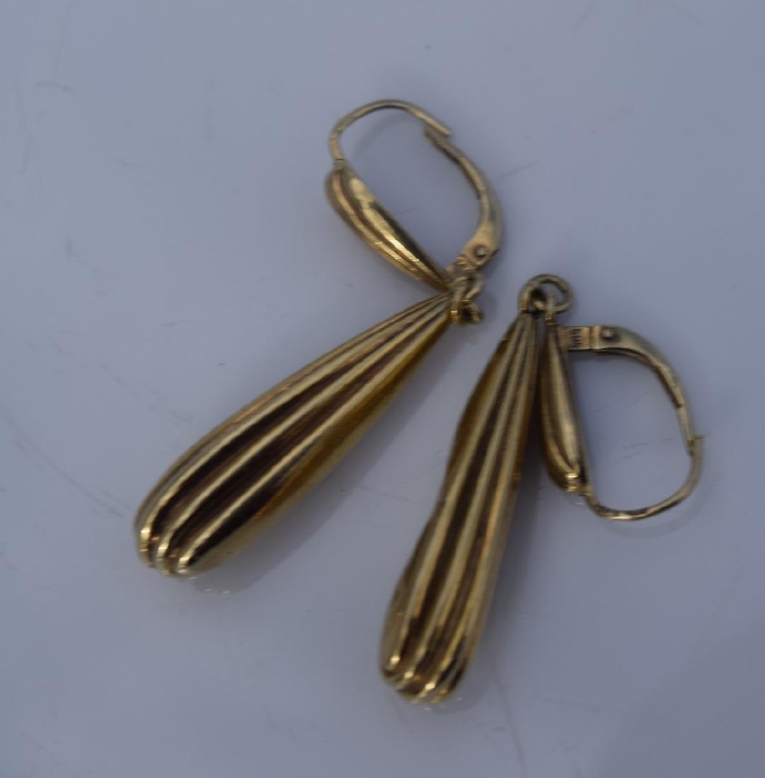 Pair of 14K Earrings - 2