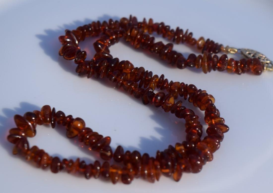 Vintage Amber Necklace - 2
