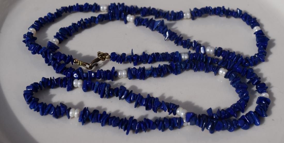 Vintage Lapis Necklace