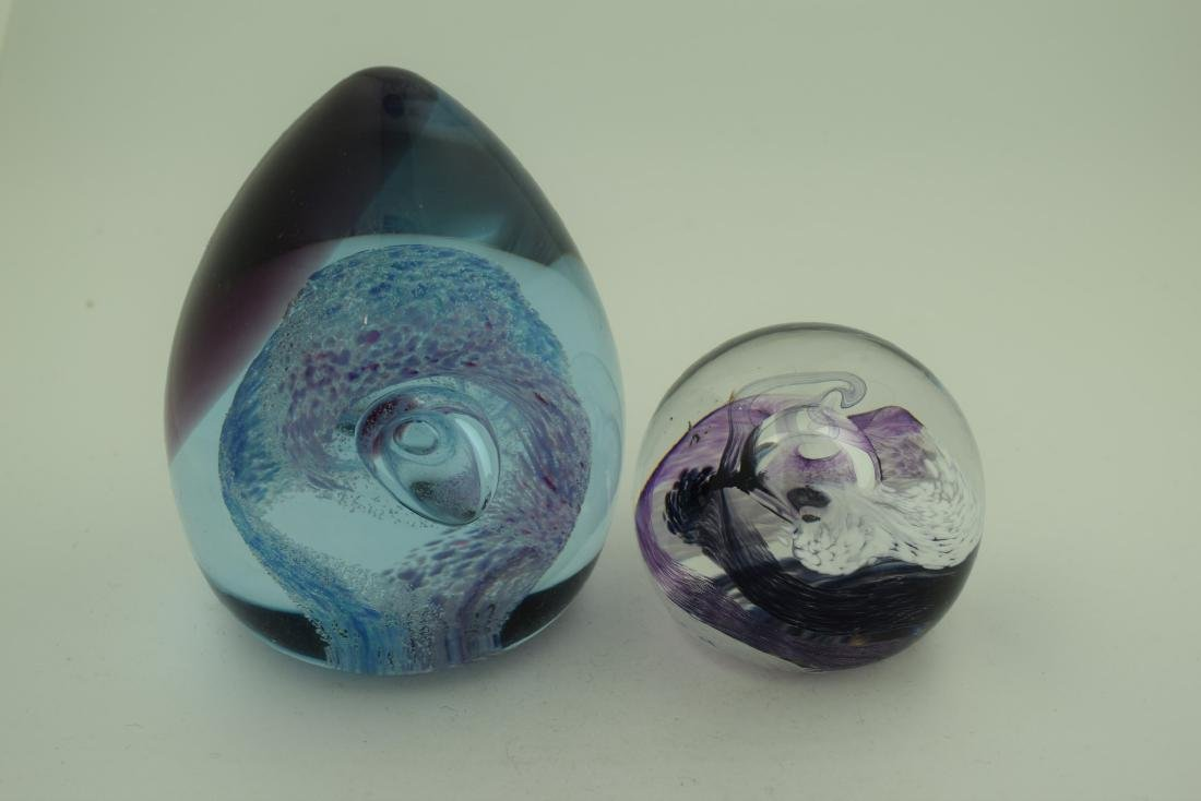 Pair of Glass Balls
