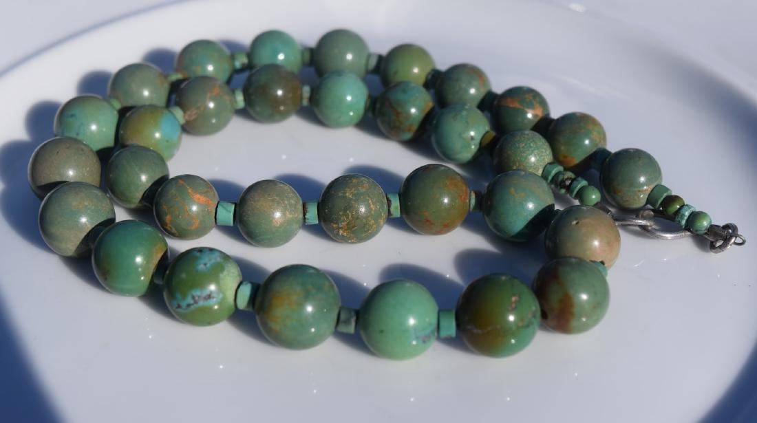 Vintage Turquoise Beads Necklace - 3