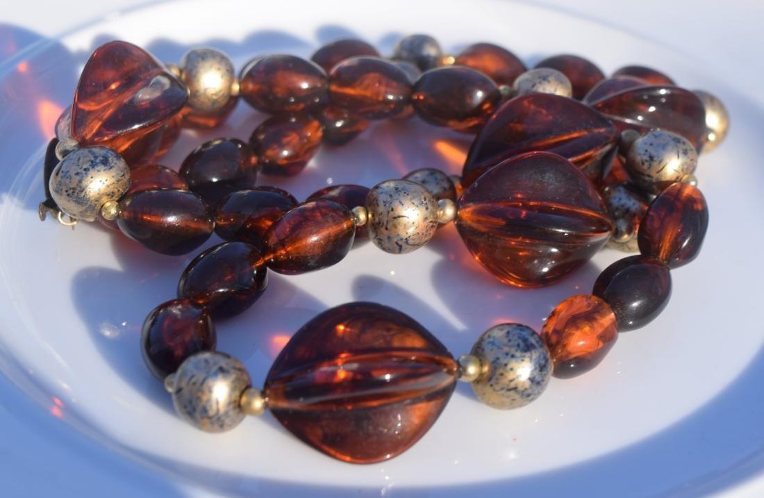 Vintage Amber Necklace