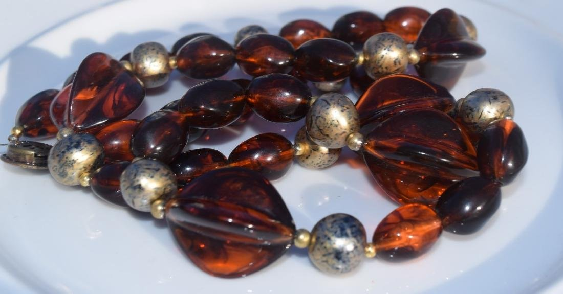 Vintage Amber Necklace - 2