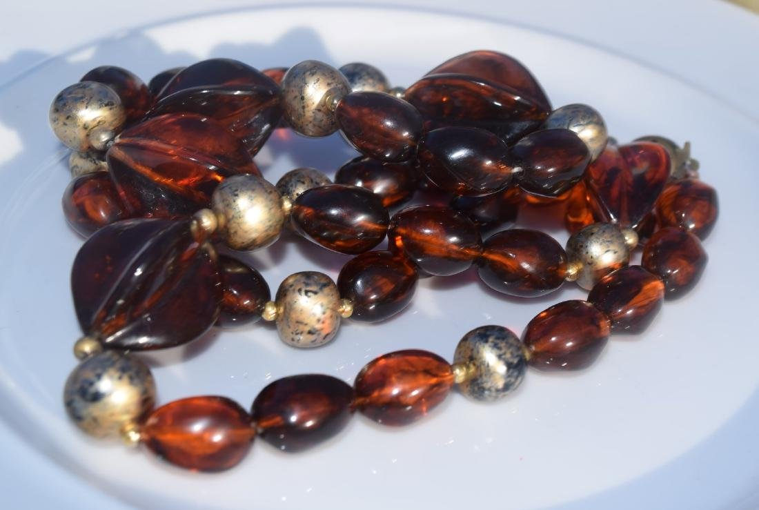 Vintage Amber Necklace - 3