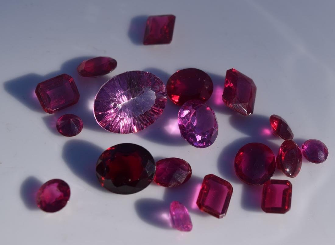 Group of Ruby Loose Cabochon