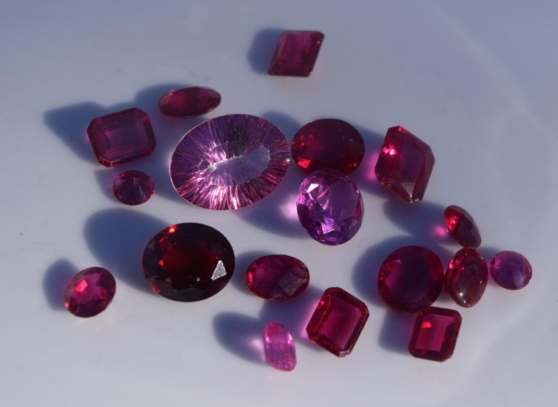 Group of Ruby Loose Cabochon - 2