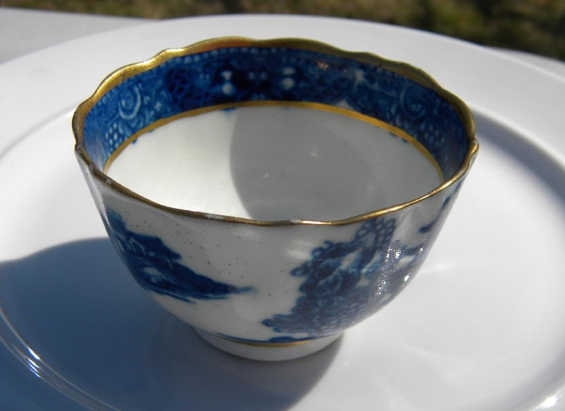 Antique Blue and White Tea Cup