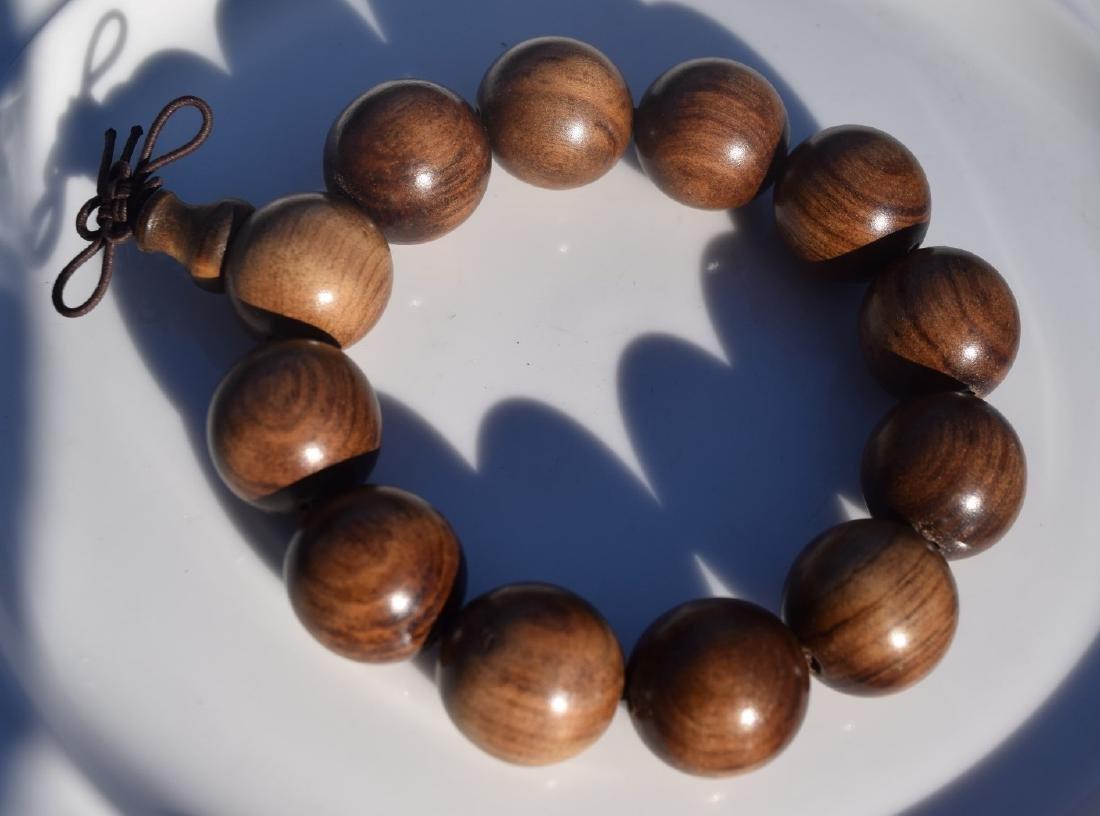 Vintage Huanghuali Beads Bracelet