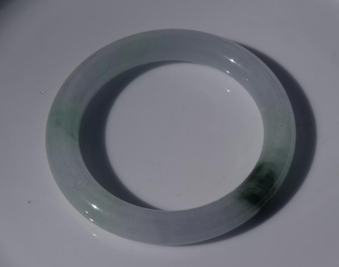 Vintage Jadeite Bangle Bracelet