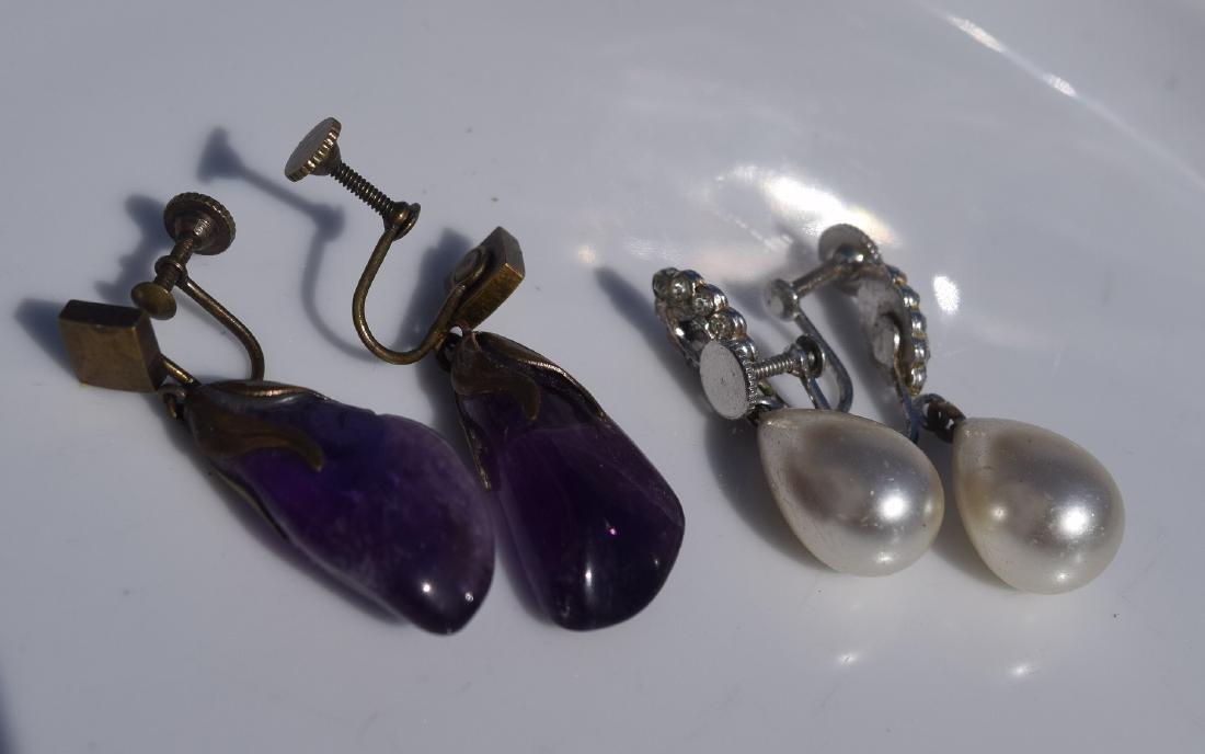 Two Pair of Earrings