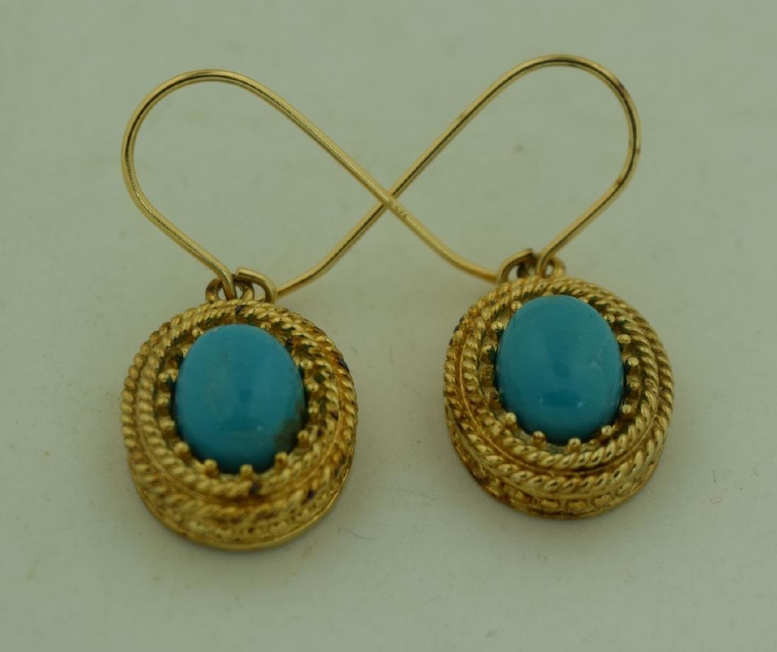 Pair of Sterling Earrings