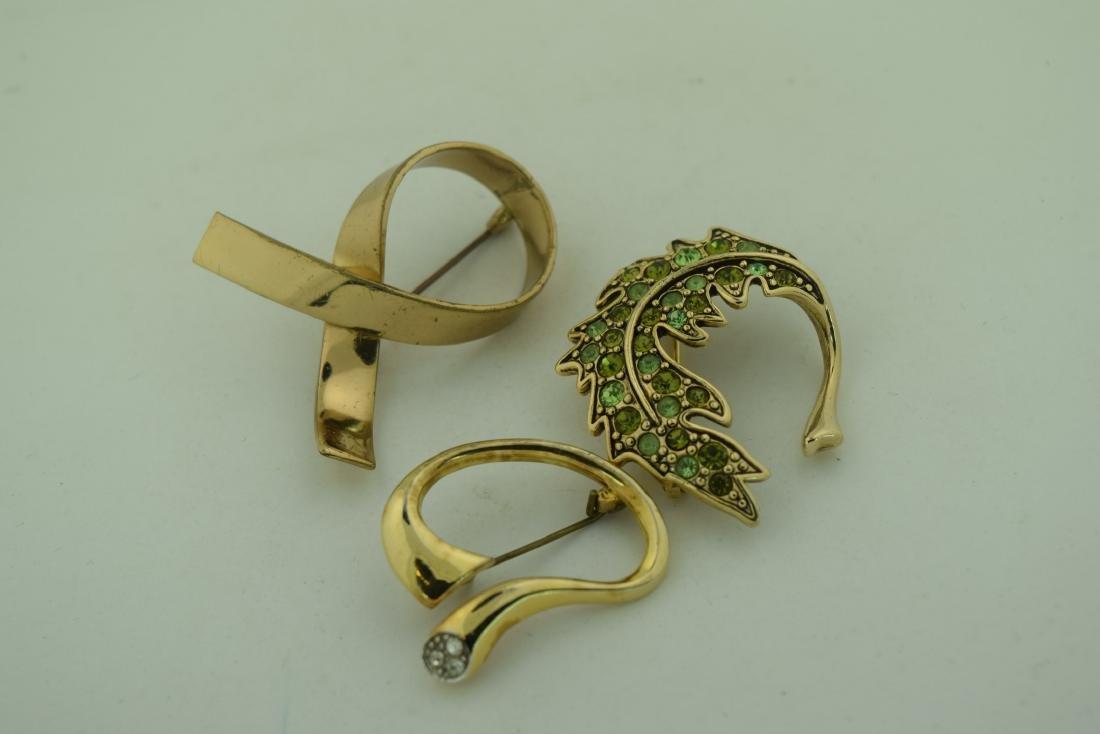 Three Vintage Brooch Pins