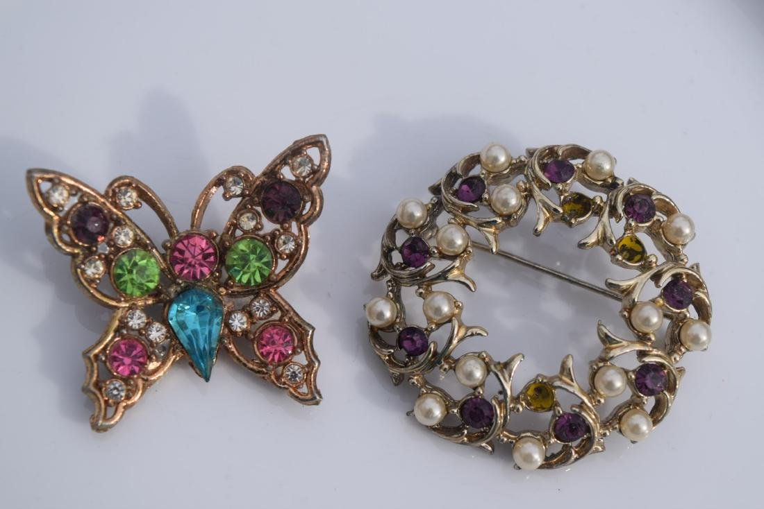 Pair of Vintage Brooch Pins