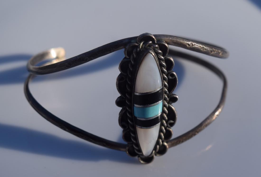 Vintage Mother of Pearl Bangle Bracelet