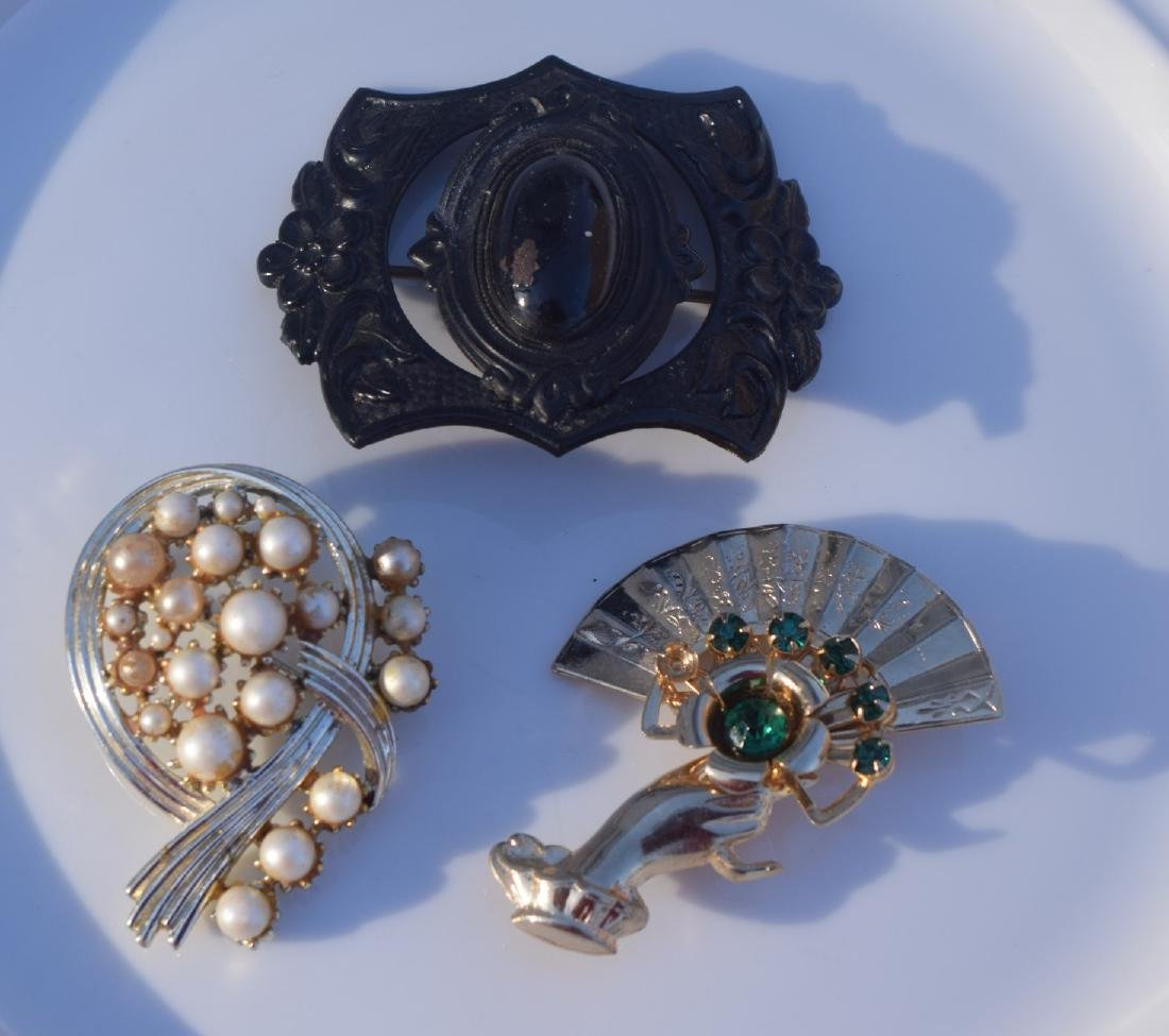Three Vintage Brooch Pins