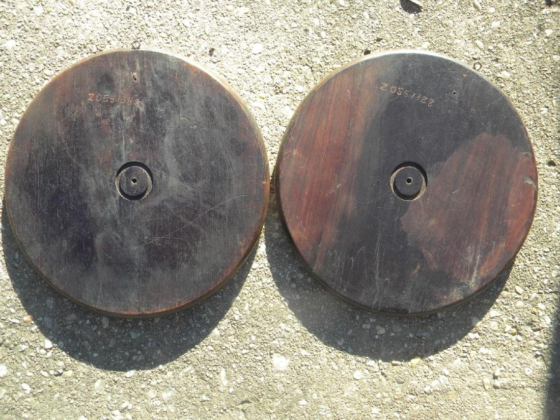 Pair of Antique Chinese Carved Rosewood Panels - 4