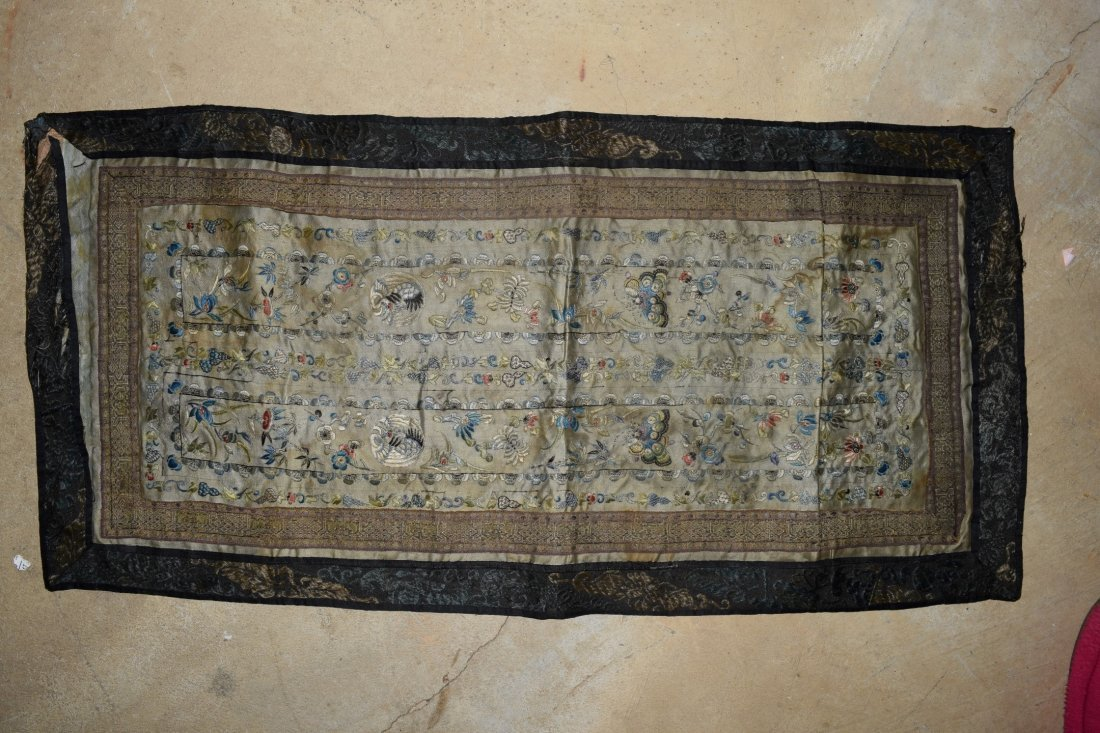 Antique Chinese Embroidery Textile