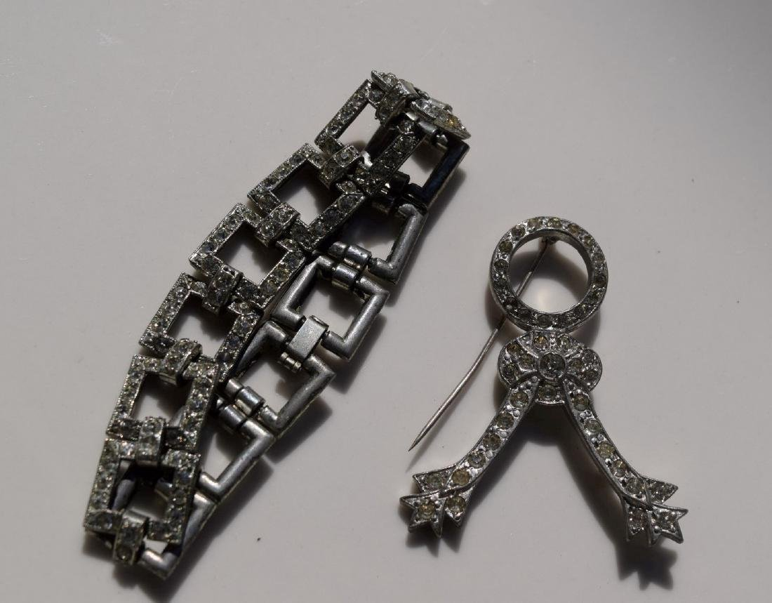 Vintage Bracelet and Brooch Pin