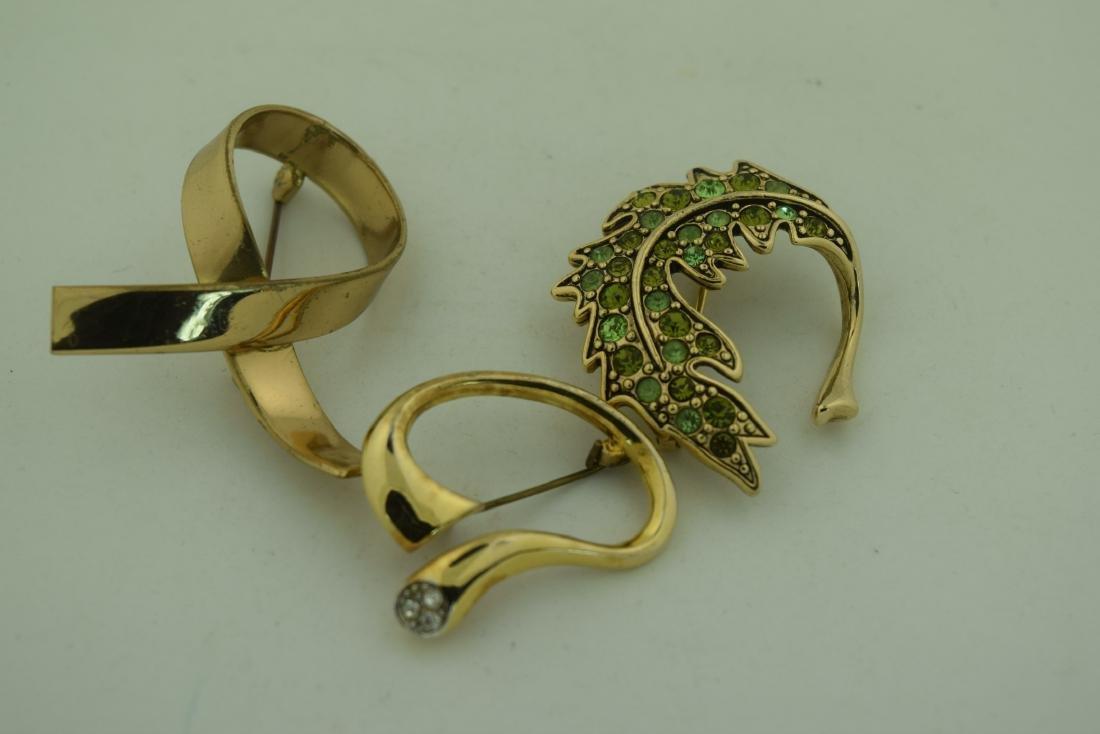 Three Vintage Brooch Pins - 2