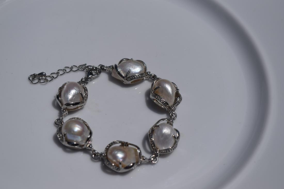 Vintage Sterling Silver Bracelet - 2