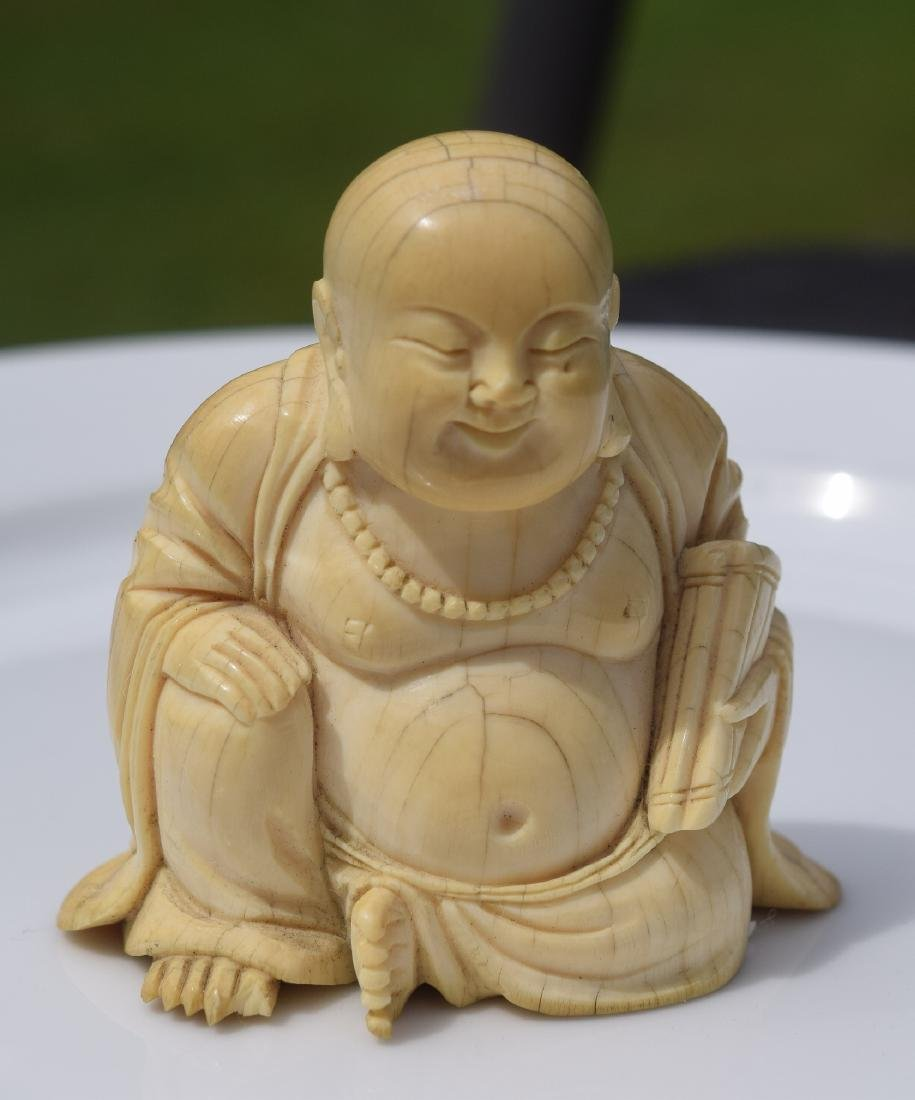 Antique Carved Buddha Statue, Ming Dynasty