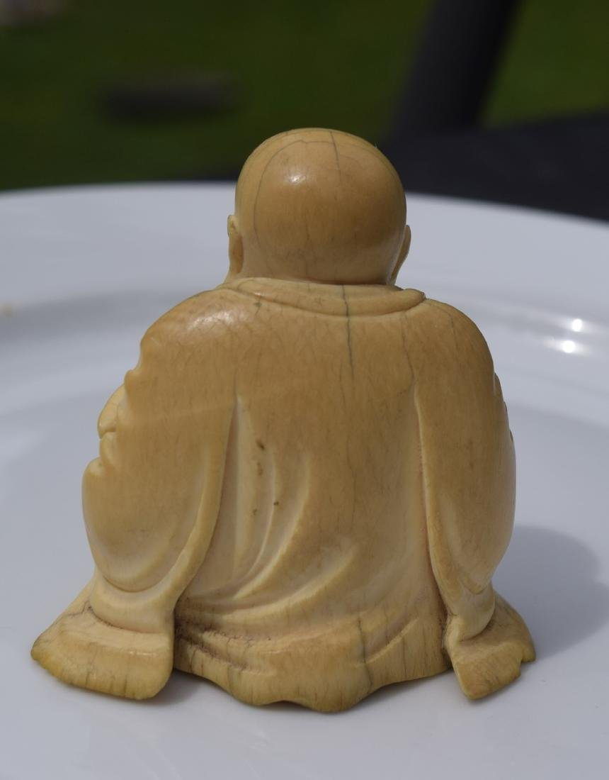 Antique Carved Buddha Statue, Ming Dynasty - 3