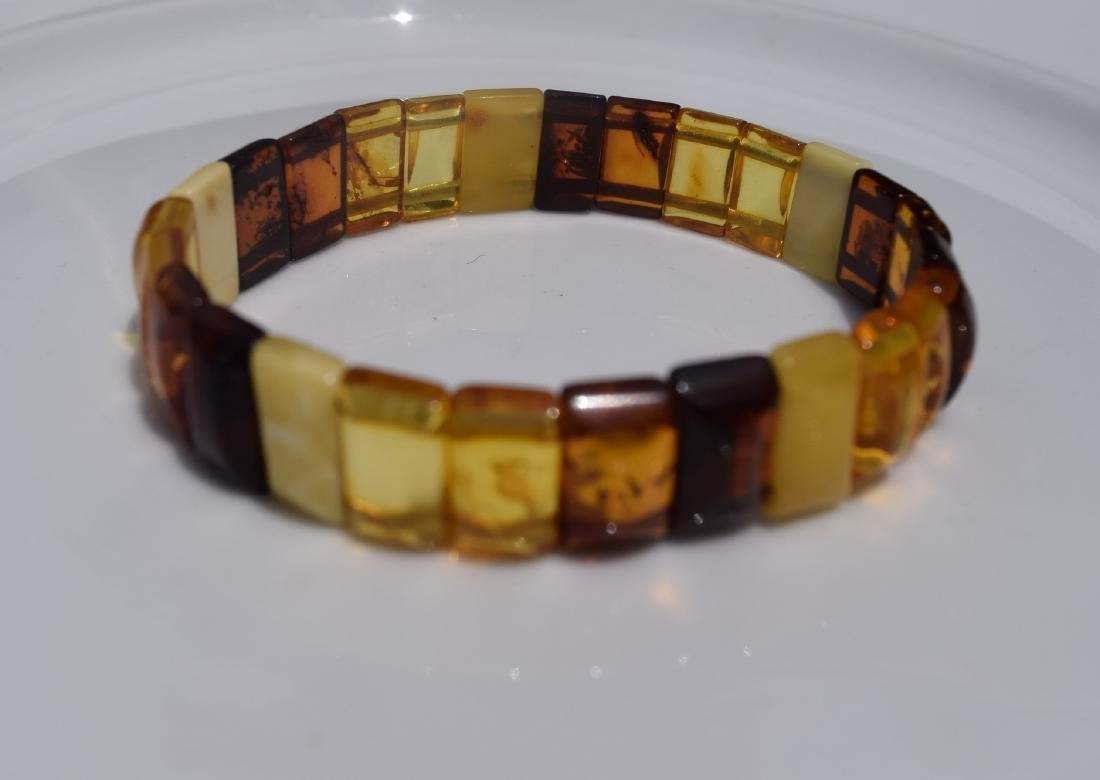 Vintage Natural Amber Bracelet