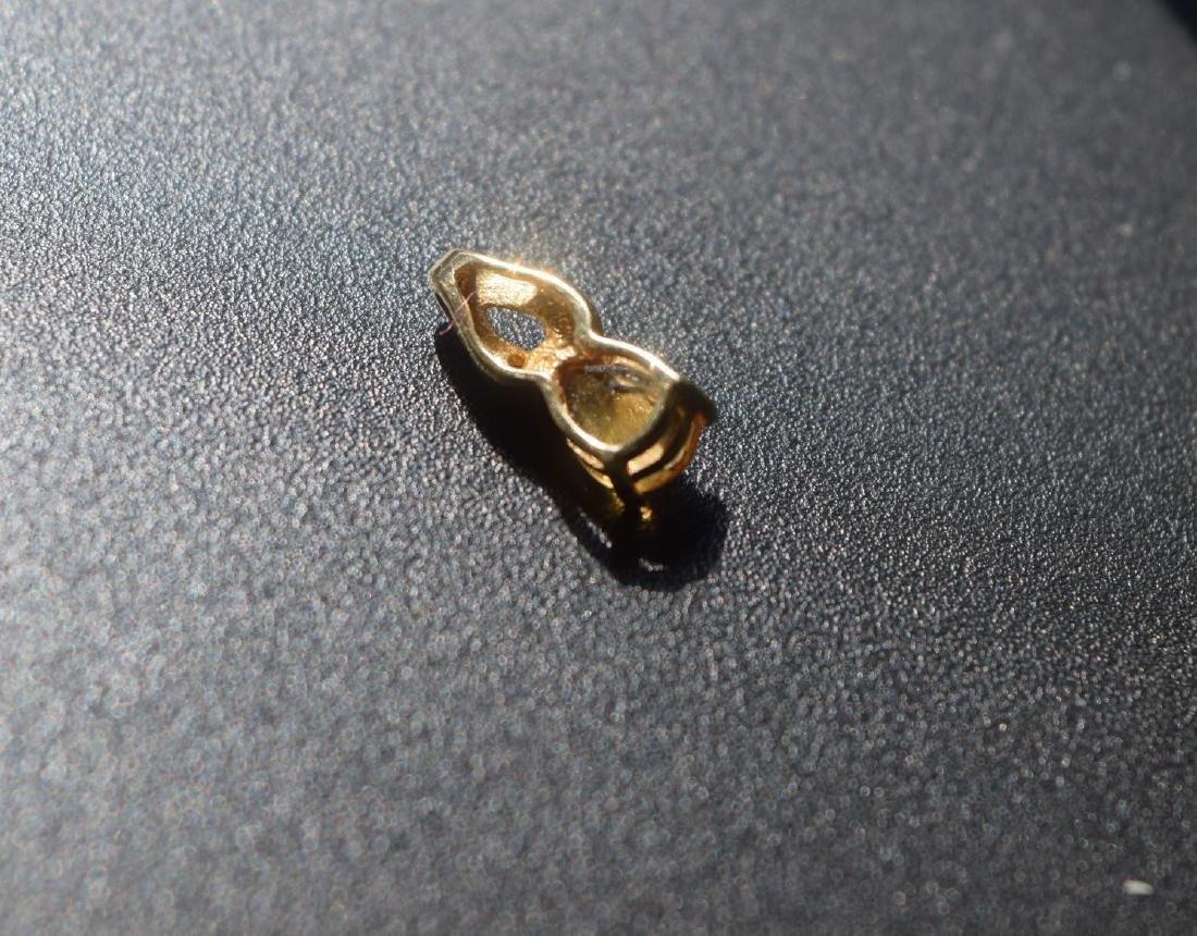 Vintage 14K Gold Pendant - 4