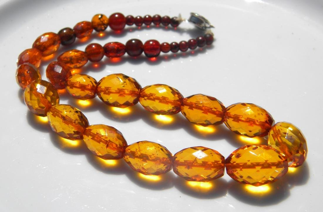 Natural Amber Beads Necklace
