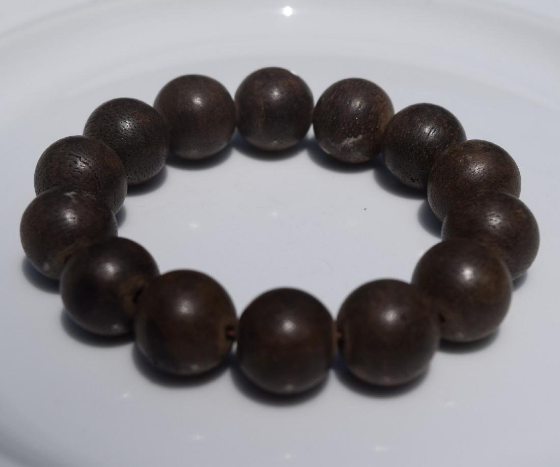 Antique Chen Xiang Beads Bracelet