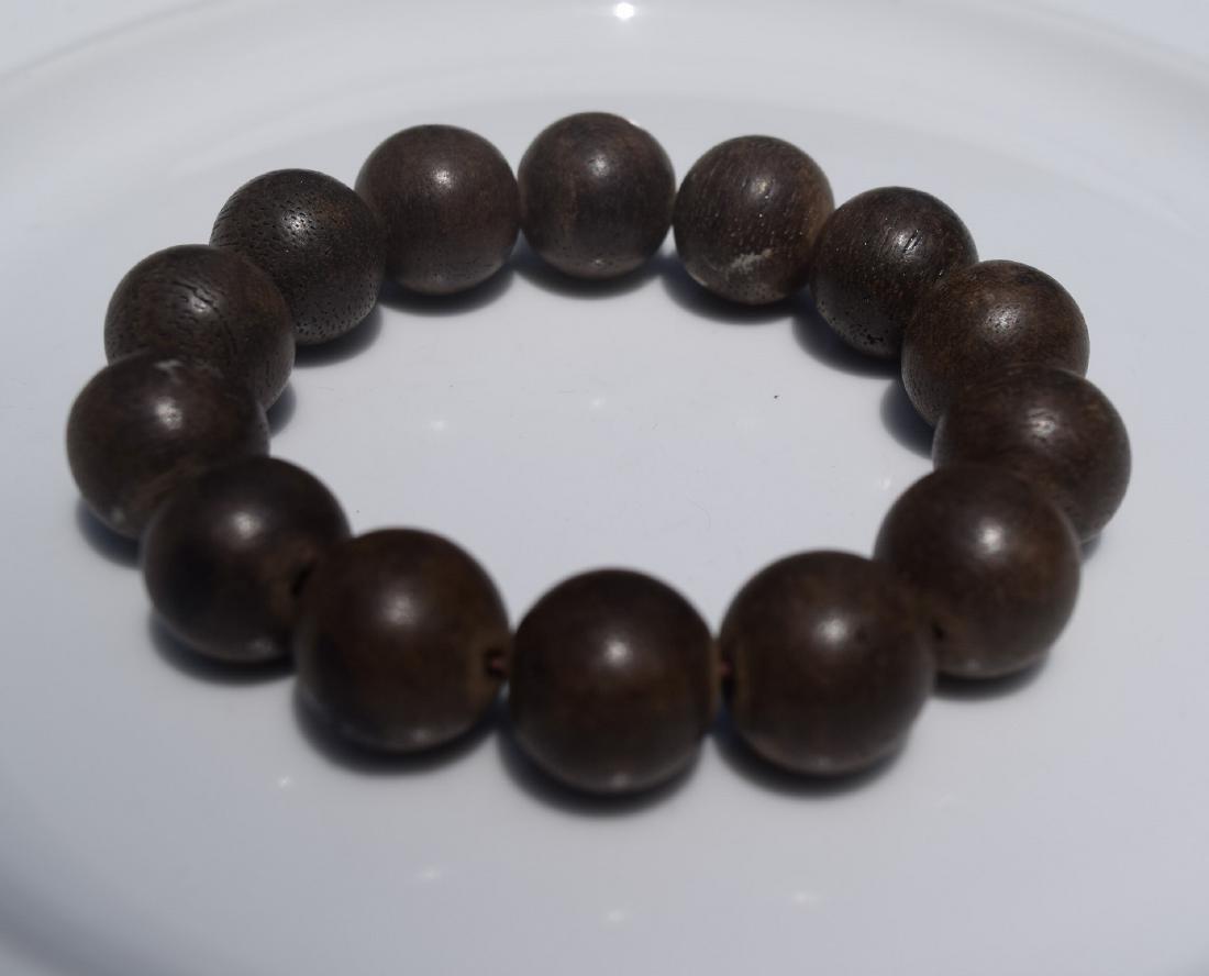 Antique Chen Xiang Beads Bracelet - 2
