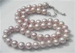 Vintage Pearl Necklace Silver Clasp