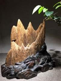 Natural Chen Xiang Mountain Statue