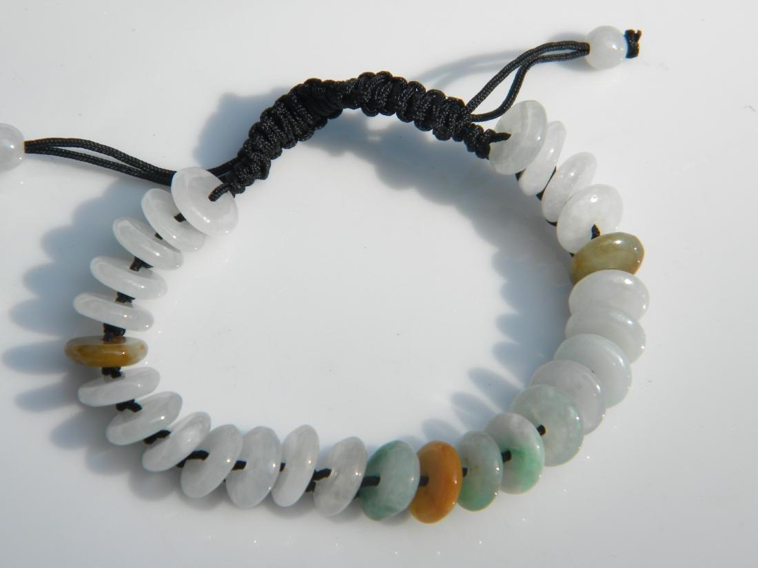 Vintage Natural Jadeite Bracelet