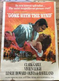 Vintage Gone with the Wind Poster