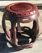 Vintage Chinese hardwood Stool